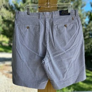 NWT Men's Polo by Ralph Lauren Striped Shorts 35